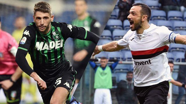 Sassuolo vs. Sampdoria (Serie A)