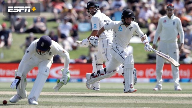 New Zealand vs. England (1st Test - Day 4)