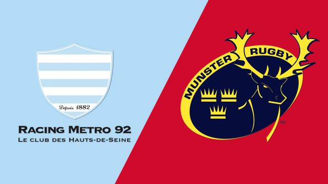 Racing 92 vs. Munster (Semifinal) (European Rugby Champions Cup)