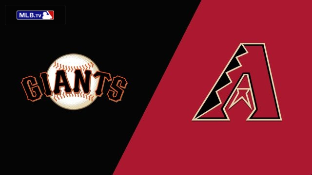 San Francisco Giants vs. Arizona Diamondbacks
