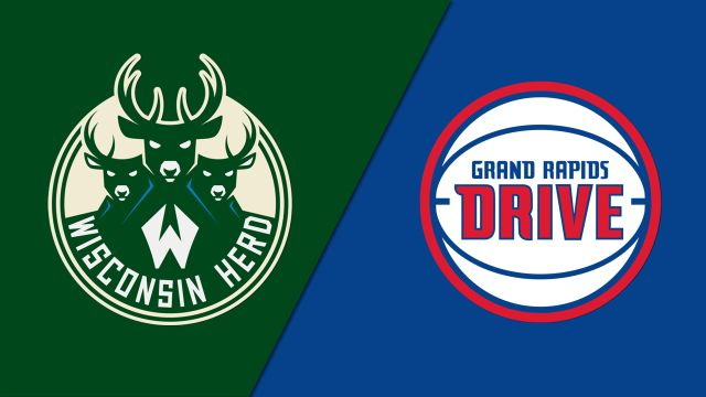 Wisconsin Herd vs. Grand Rapids Drive