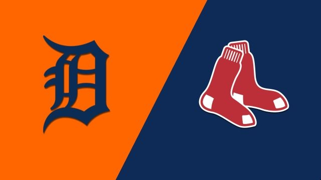 Detroit Tigers vs. Boston Red Sox