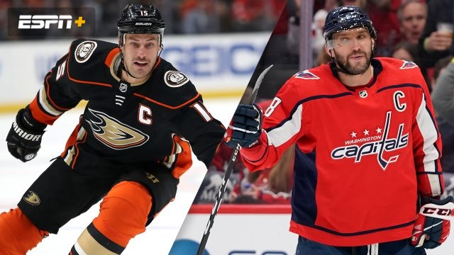 Anaheim Ducks vs. Washington Capitals