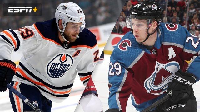 Edmonton Oilers vs. Colorado Avalanche