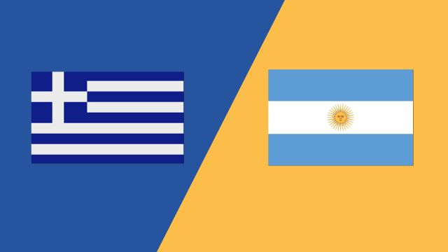 Greece vs. Argentina (2018 FIL World Lacrosse Championships)