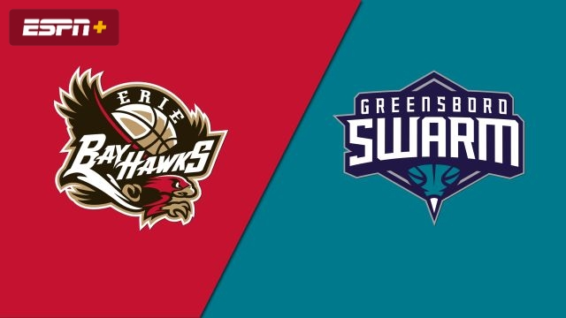 Erie BayHawks vs. Greensboro Swarm