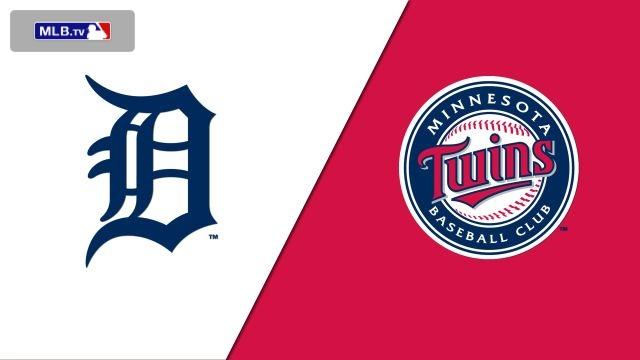 Detroit Tigers vs. Minnesota Twins