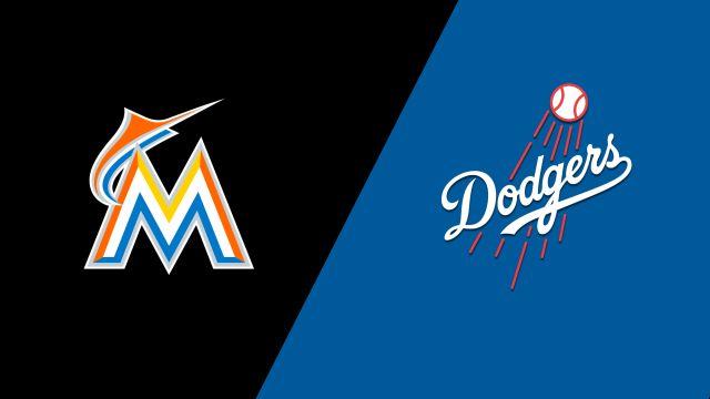 Miami Marlins vs. Los Angeles Dodgers