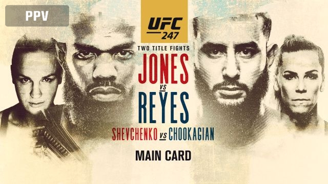 In Spanish - UFC 247: Jones vs. Reyes (Main Card)