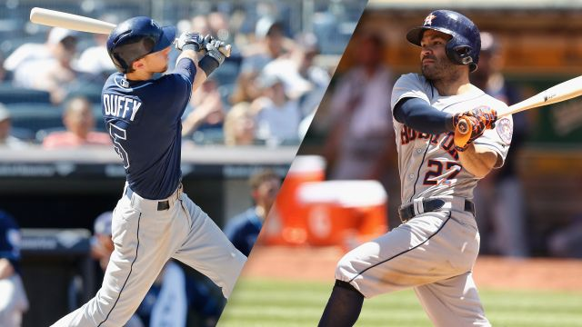 Tampa Bay Rays vs. Houston Astros