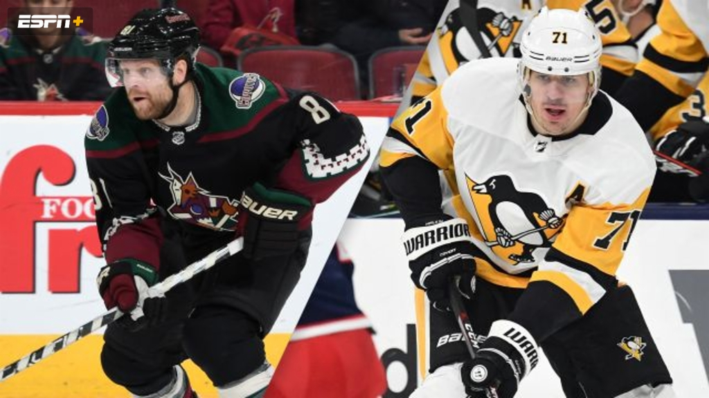 Arizona Coyotes vs. Pittsburgh Penguins