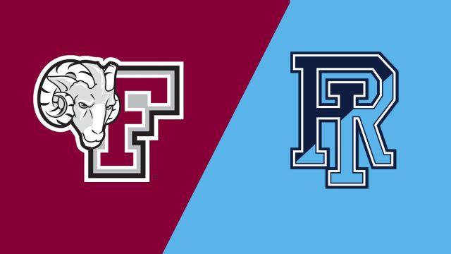 Fordham vs. Rhode Island (W Basketball)