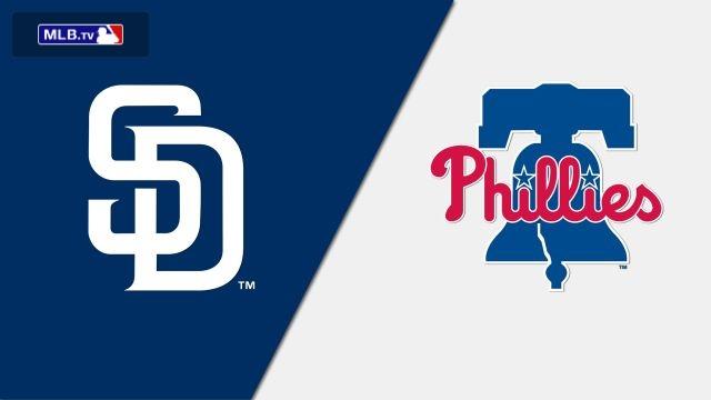 San Diego Padres vs. Philadelphia Phillies