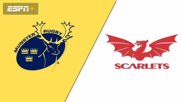 Munster vs. Scarlets (Guinness PRO14 Rugby)