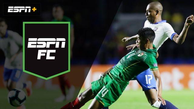 Sat, 6/15 - ESPN FC: Recapping Brazil vs. Bolivia