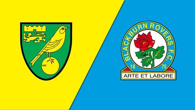 Norwich City vs. Blackburn Rovers (English League Championship)