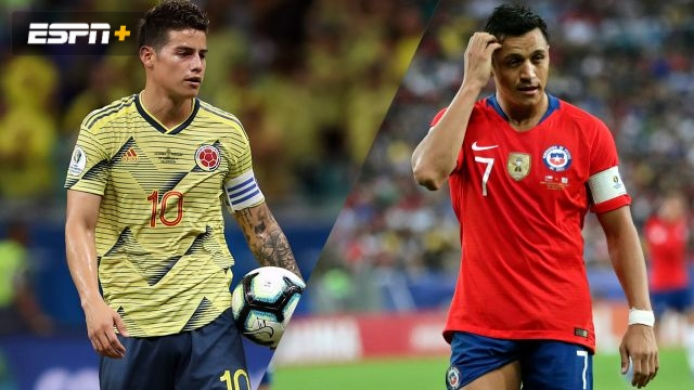 Colombia vs. Chile (Quarterfinal) (Copa America)