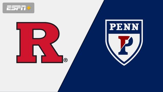 Rutgers vs. Pennsylvania