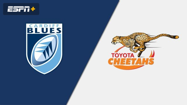 Cardiff Blues vs. Cheetahs (Guinness PRO14 Rugby)