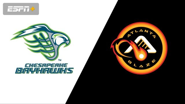 Chesapeake Bayhawks vs. Atlanta Blaze (Major League Lacrosse)