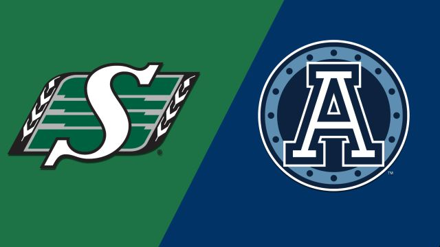 Saskatchewan Roughriders vs. Toronto Argonauts