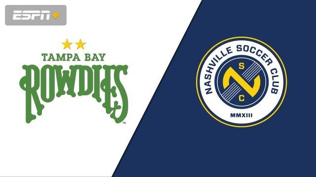 Tampa Bay Rowdies vs. Nashville SC (USL Championship)