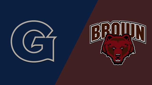 Georgetown vs. Brown