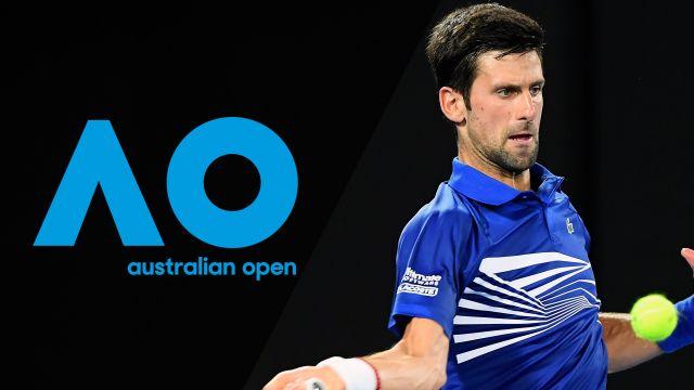 Thu, 1/17 - Australian Open Highlight Show
