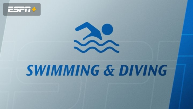 A-10 Women's and Men's Swimming and Diving Championships (Day One Prelims) (Swimming)