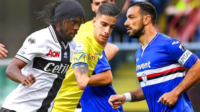 Parma vs. Sampdoria (Serie A)