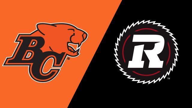BC Lions vs. Ottawa Redblacks