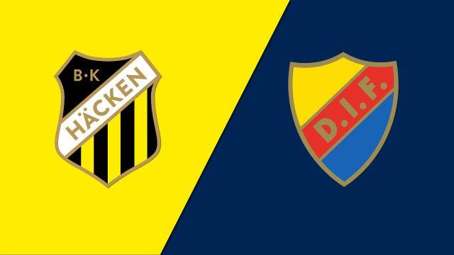 BK Hacken vs. Djurgardens IF (Allsvenskan)