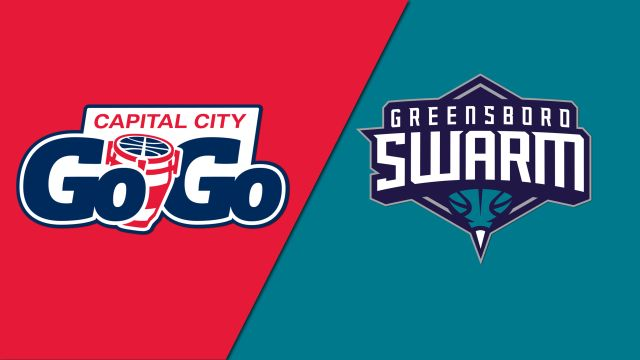 Capital City Go-Go vs. Greensboro Swarm