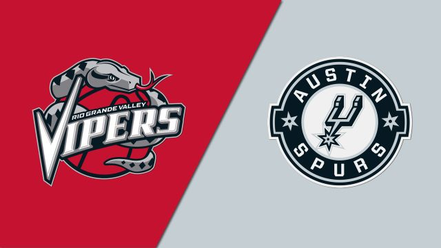 Rio Grande Valley Vipers vs. Austin Spurs