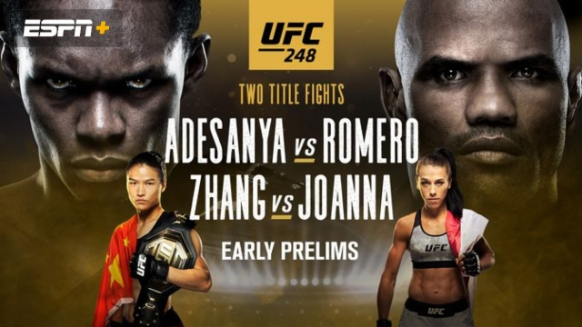 UFC 248: Adesanya vs. Romero (Early Prelims)