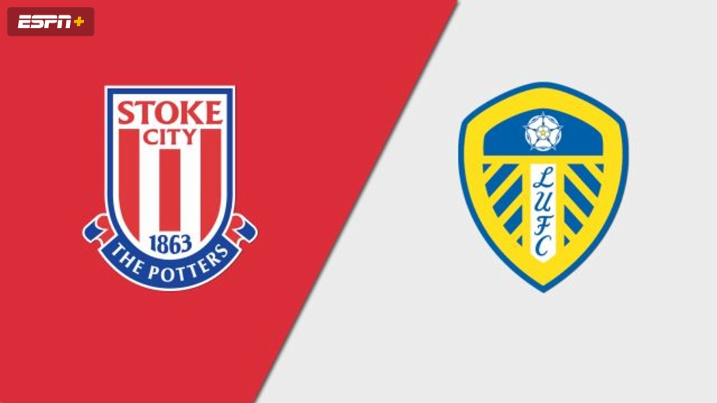 Stoke City vs. Leeds United (English League Championship)