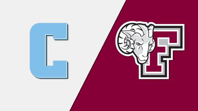 Columbia vs. Fordham (M Soccer)