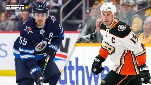 Winnipeg Jets vs. Anaheim Ducks