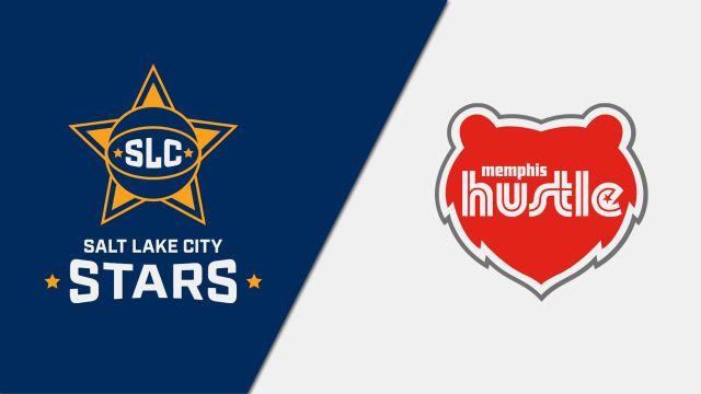 Salt Lake City Stars vs. Memphis Hustle