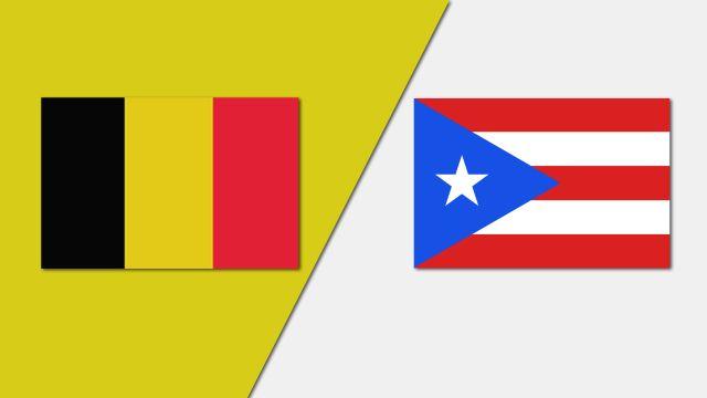 Belgium vs. Puerto Rico (Group Phase)