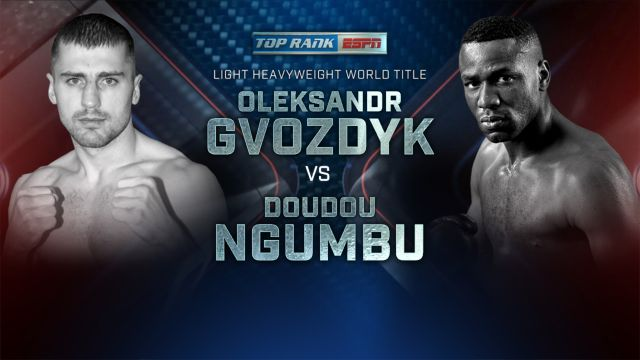 Gvozdyk vs. Ngumbu Weigh-In