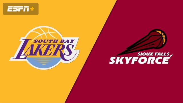 South Bay Lakers vs. Sioux Falls Skyforce