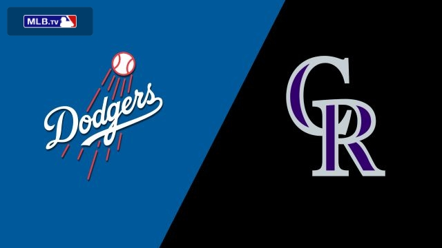 Los Angeles Dodgers vs. Colorado Rockies