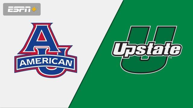American vs. USC Upstate (W Soccer)