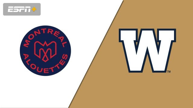 Montreal Alouettes vs. Winnipeg Blue Bombers (Canadian Football League)