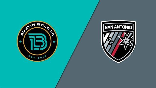 Austin Bold FC vs. San Antonio FC (Third Round) (U.S. Open Cup)