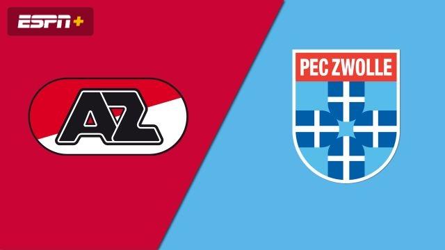 AZ Alkmaar vs. PEC Zwolle (Eredivisie)