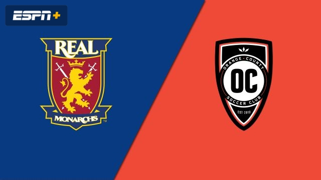 Real Monarchs SLC vs. Orange County SC (USL Championship)