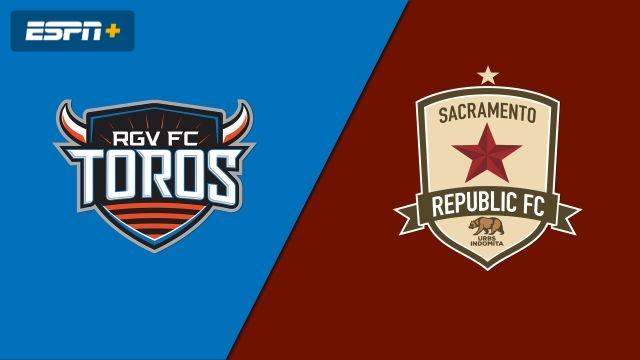 Rio Grande Valley FC Toros vs. Sacramento Republic FC (USL Championship)