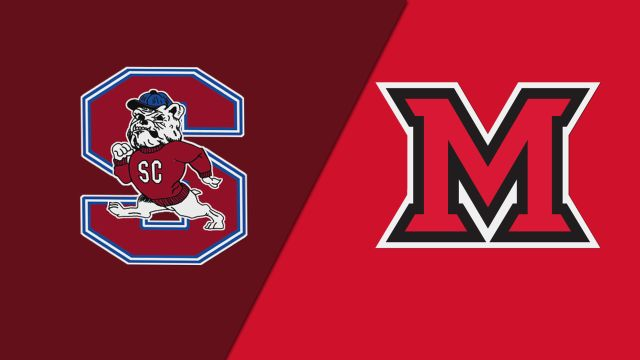 South Carolina State vs. Miami (OH) (M Basketball)